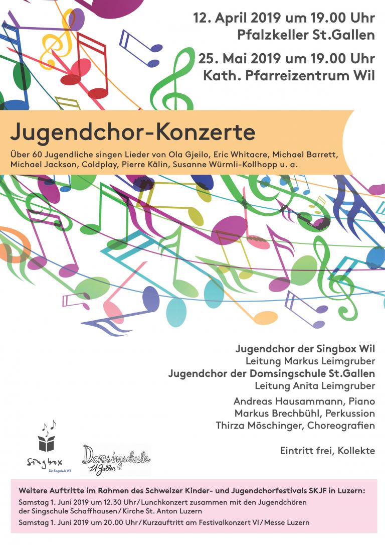 Jugendchor-Konzerte